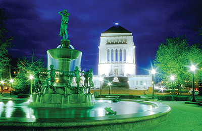 Indiana War Memorial Plaza Historic District